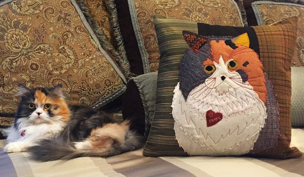Sewing Project for Pets: Applique Pillow