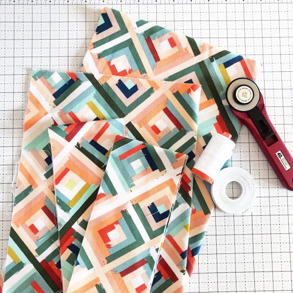 Canvas Market Bag Tutorial: Materials